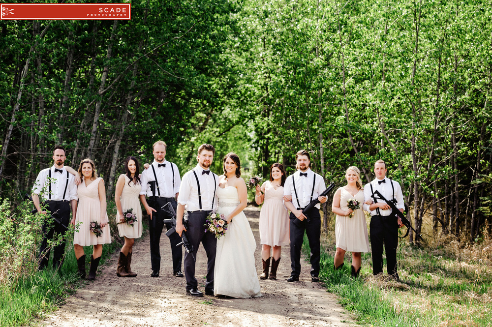 Edmonton Spring Country Wedding - Amy and Chris