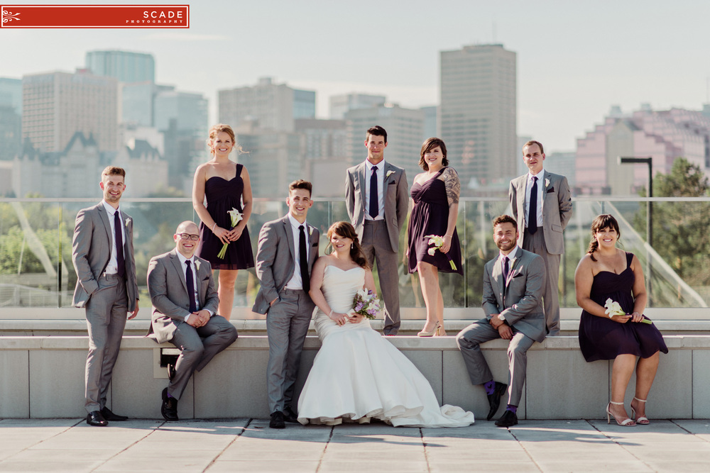 Edmonton La Cite Wedding