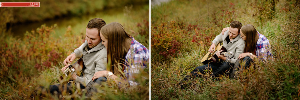 Edmonton Fall Engagement Photography