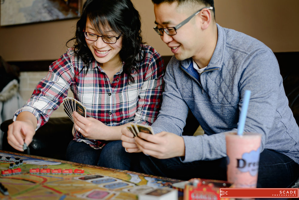 Bubble Tea Engagement Edmonton