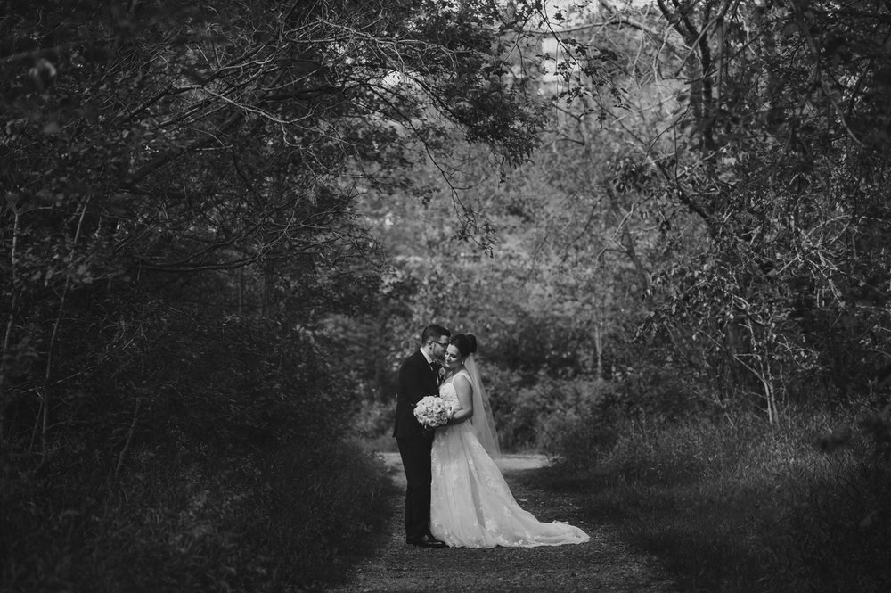 Edmonton River Valley Wedding - Amie and Alex -