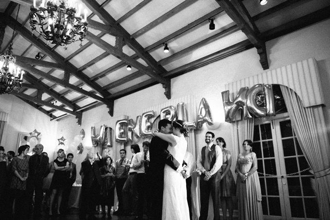 Piedmont Community Hall Wedding