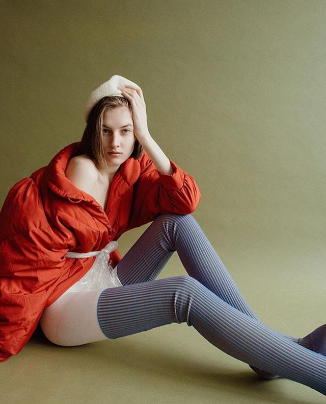 Thigh high knit shoes on shoes Vlada  @erikaastrid