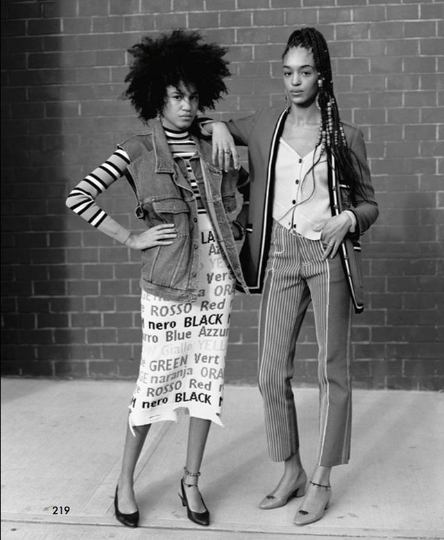 Sisters. Briana & Indira shoot by @oliverhadleepearch. Styled by @emimikareh for @the_gentlewoman