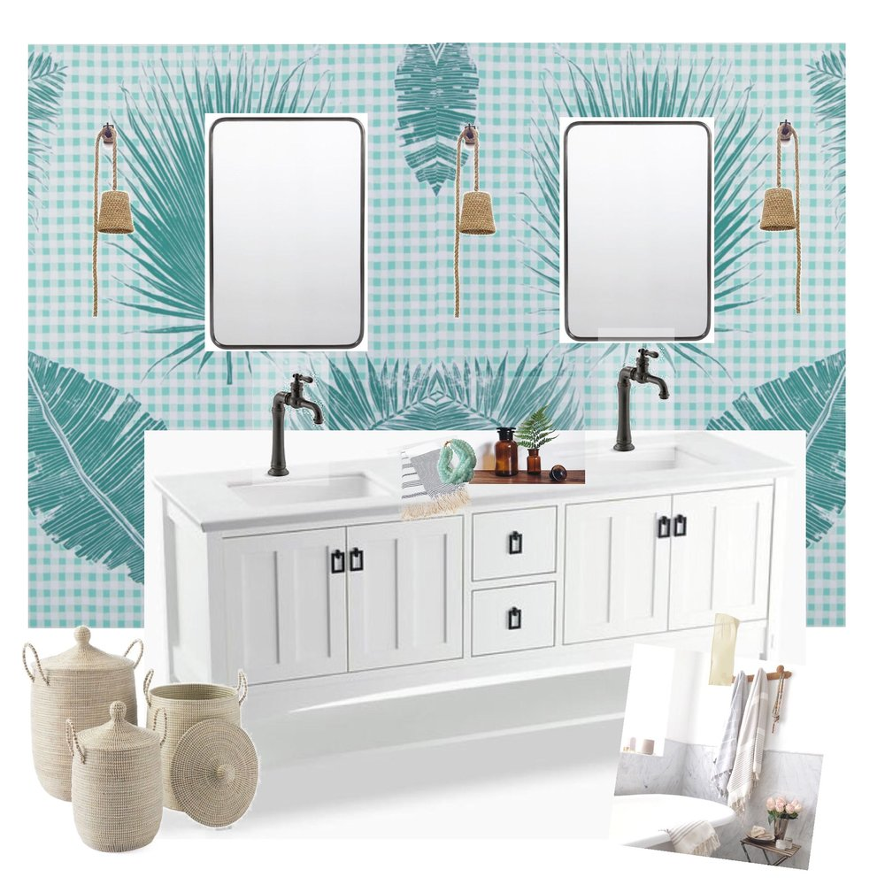 BEACHY, CLASSIC, COASTAL Guest Bathroom:  Products Mirrors | Rejuvenation, Light