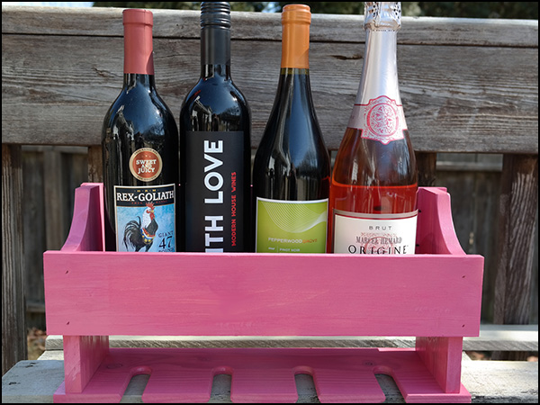 Wine rack touted as a great gift idea by Journal Sentinel   Anne Schamberg leads off her list of best holiday gifts for wine lovers with Gear Grove's wall-mounted wine racks. These popular racks are available in multiple colors and include mounting hardware.  Check out the list .
