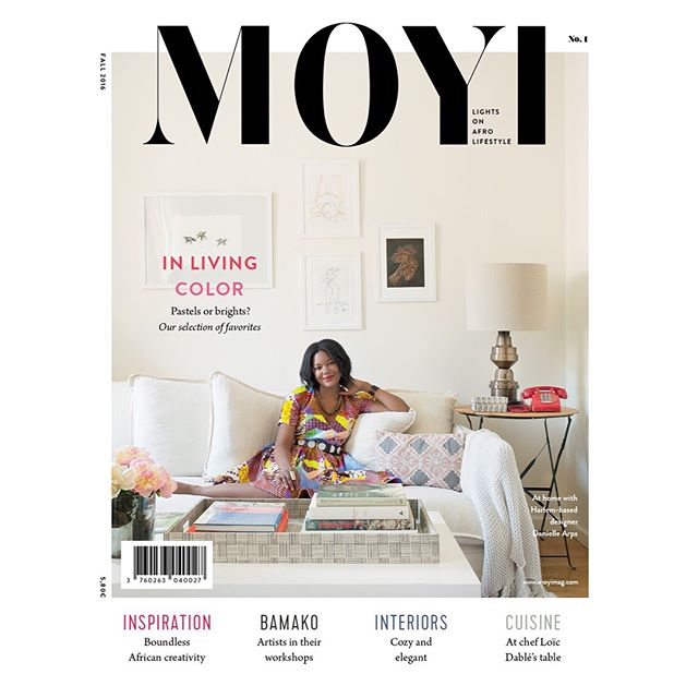#tbt to the time I was on the cover of @moyimagazine.  @aphrochic put together an awesome team to get the shoot done...I def need more @reuel_reuel dresses in my life and would like to raid the closet of fab stylist @dericacolewash in general!  The cover shot was taken by @patrickclinephotography  and interior styling by @_angelabelt ❤️ This was a pretty cool moment.  #covergirl #butlikeforrealtho
