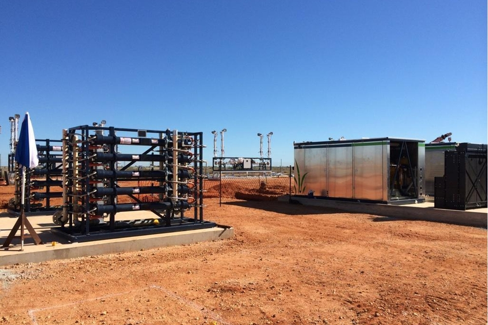 Port Hedland mother station site – heat exchangers