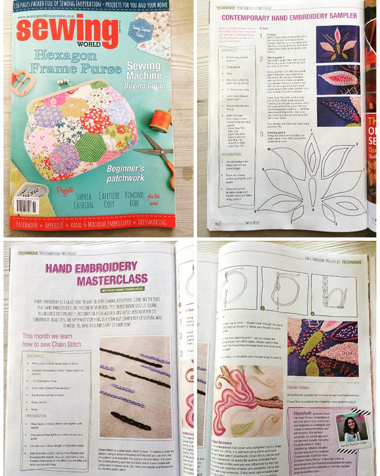 Sewing World, October 2015 Issue