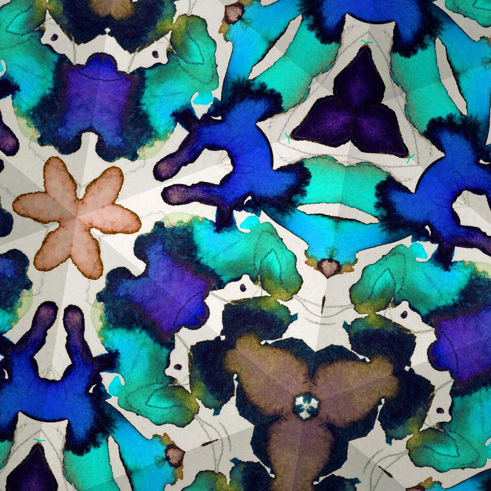 Harriet Stiles, Jeweled Garden Turquoise.jpg