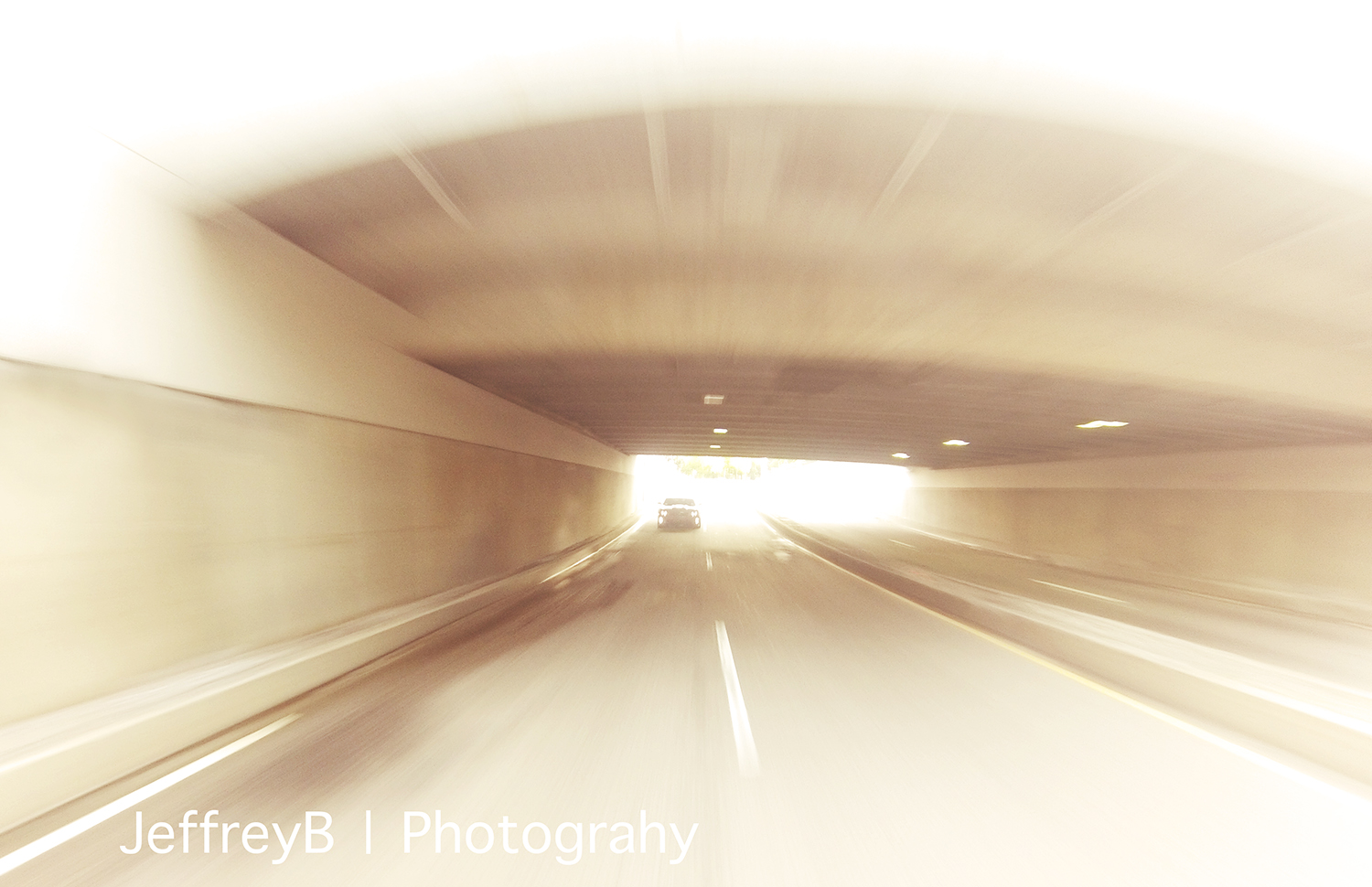 GoPro Hero 3 tunnel in Cambridge