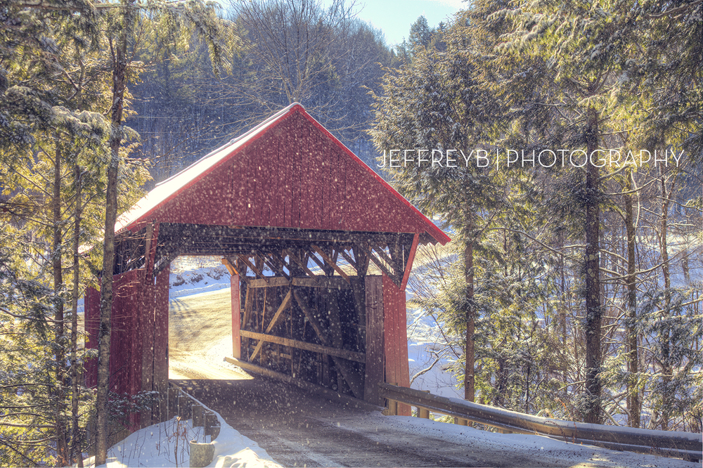 Covered Bridge, Stowe, Vermont