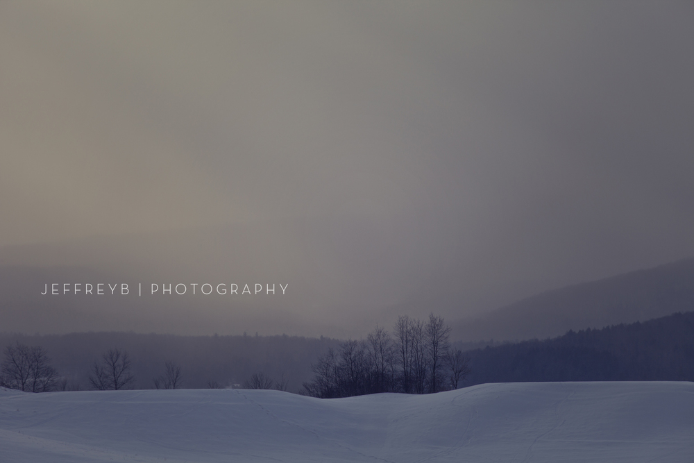 Sunset Stowe, Vermont
