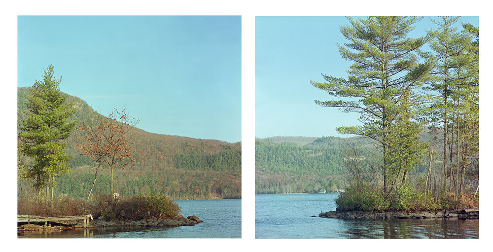 Lake Dunmore, Salisbury Vermont, Kodak Portra 160