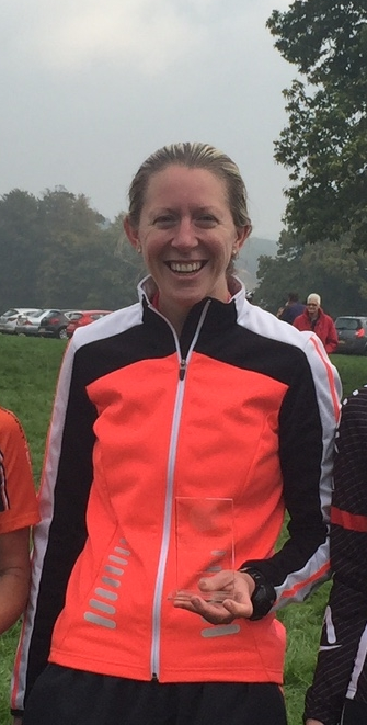 First woman by 4 minutes, Chilham Castle Sprint Duathlon champion and new course record holder. Photo courtesy of Tri Spirits Events