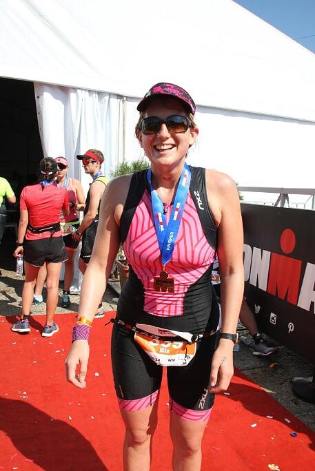 Straight in - Ironman Portugal 70.3. The Amazing Ironwoman Biz