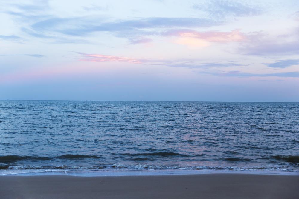 Ho Tram Beach Sunset