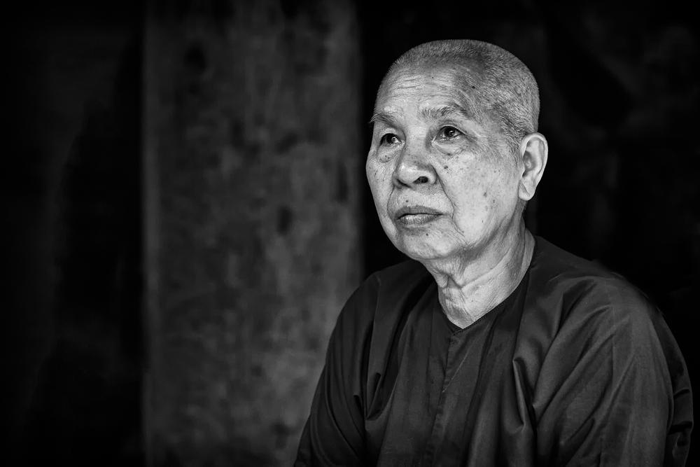 The hopeful monk.