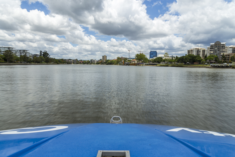 Brisbane River to Toowong.