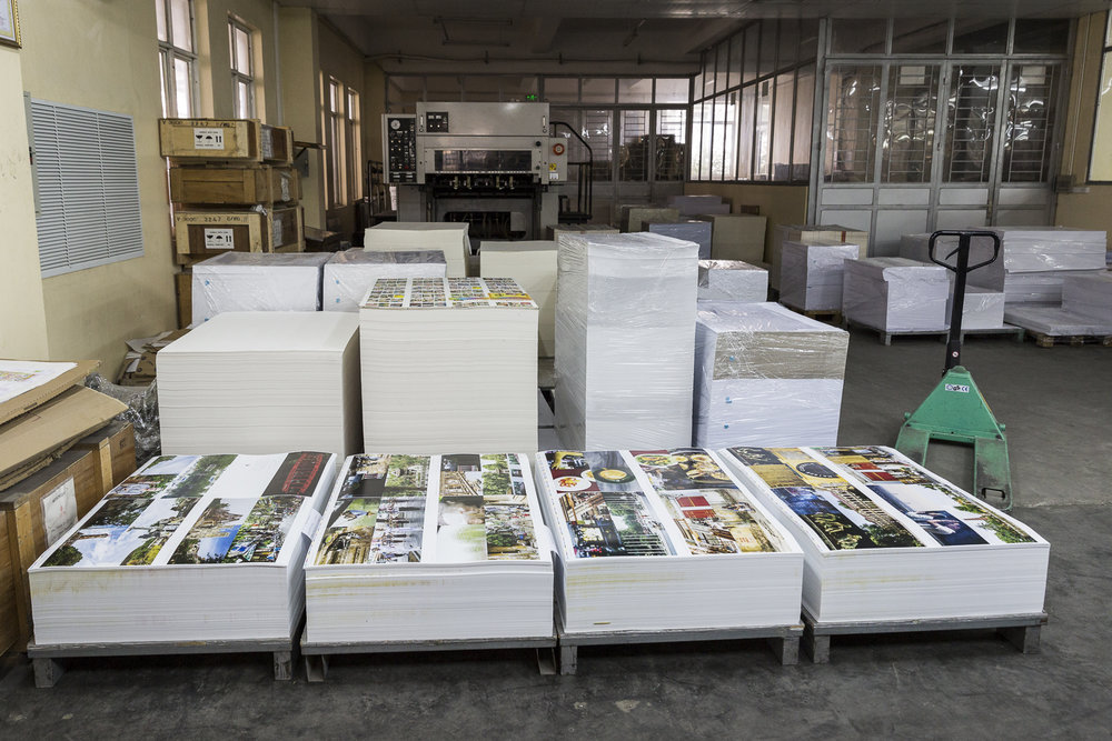 Tow books by 2,000 copies is a lot of paper and ink. This is a fraction.
