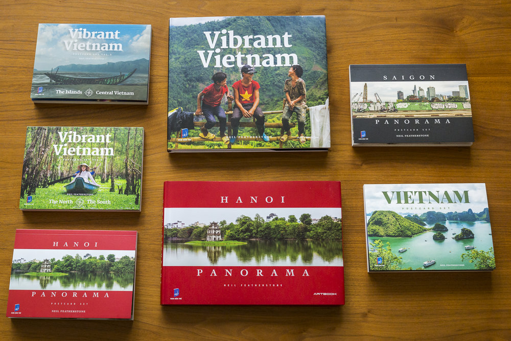 Vibrant Vietnam and Hanoi Panorama photo books