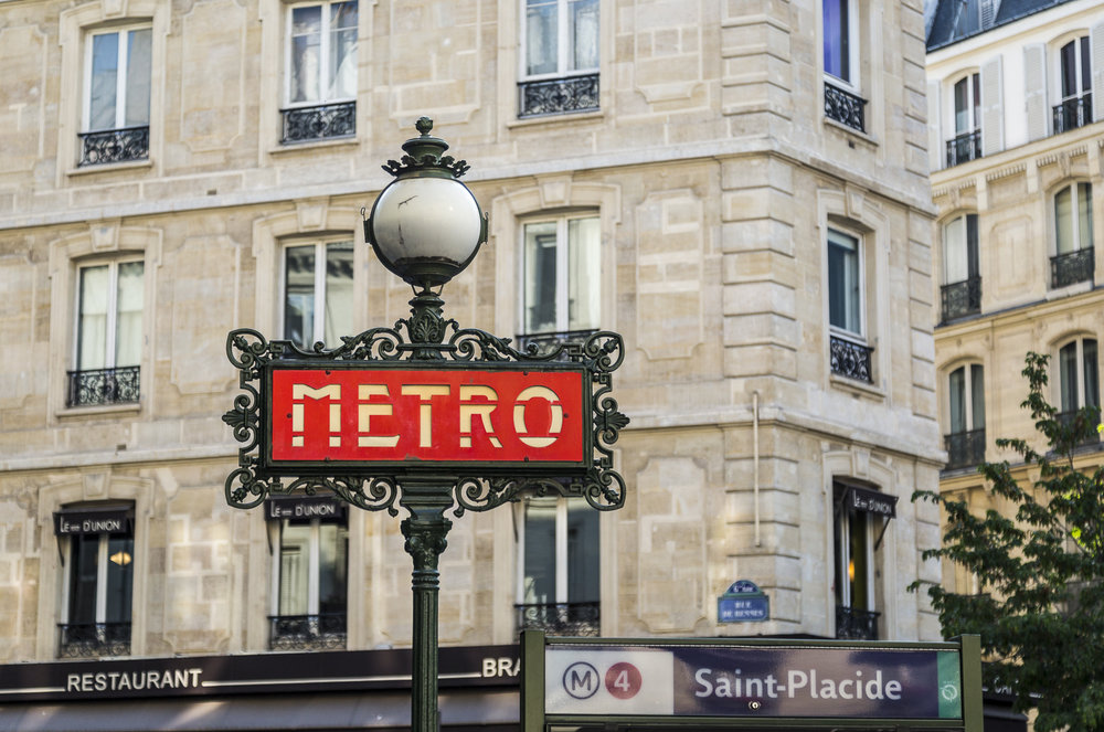 Uber cool Metro signs are works of art in themselves.