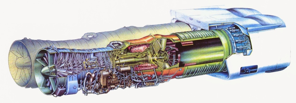 Concorde's Olympus enginer