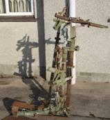 Gun mounting
