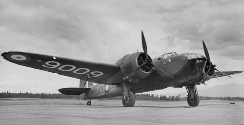Another Bolingbroke 9009 (YO-M), photographed in Alaska in July 1942 - courtesy of Randy West