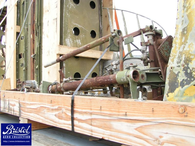 Restoring the gun turret will be a challenging but rewarding job for someone!