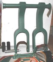 Restored rudder pedals