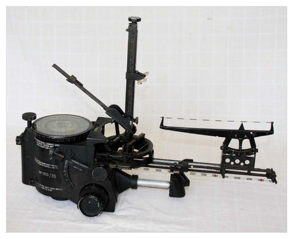 Bomb aiming equipment