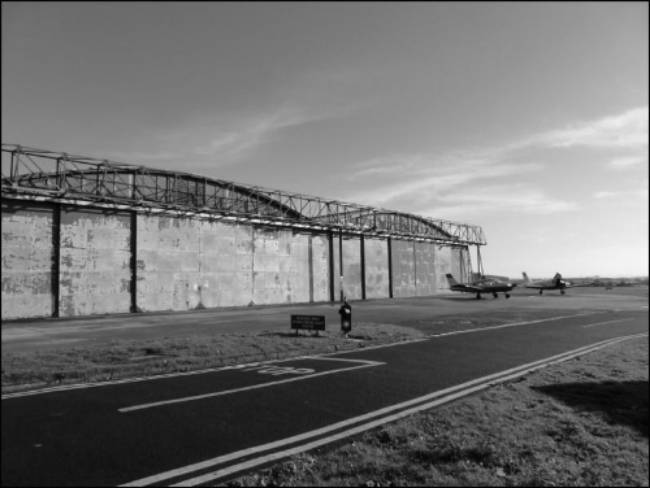 The WW1 Grade II listed aircraft hangar,will house the main heritage collection.