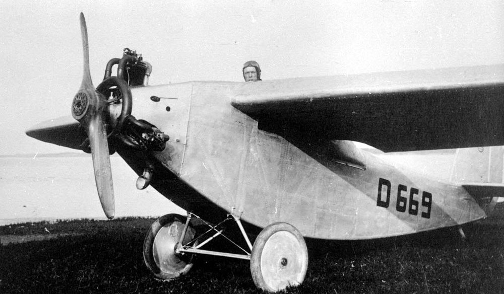 "Bristol Lucifer, installed in an LFG V44 ""D-669"""