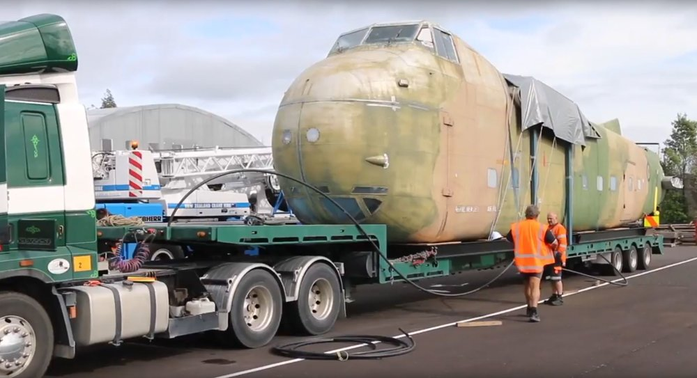 Bristol Freighter's journey home: Credit AirFlow NZ.jpg