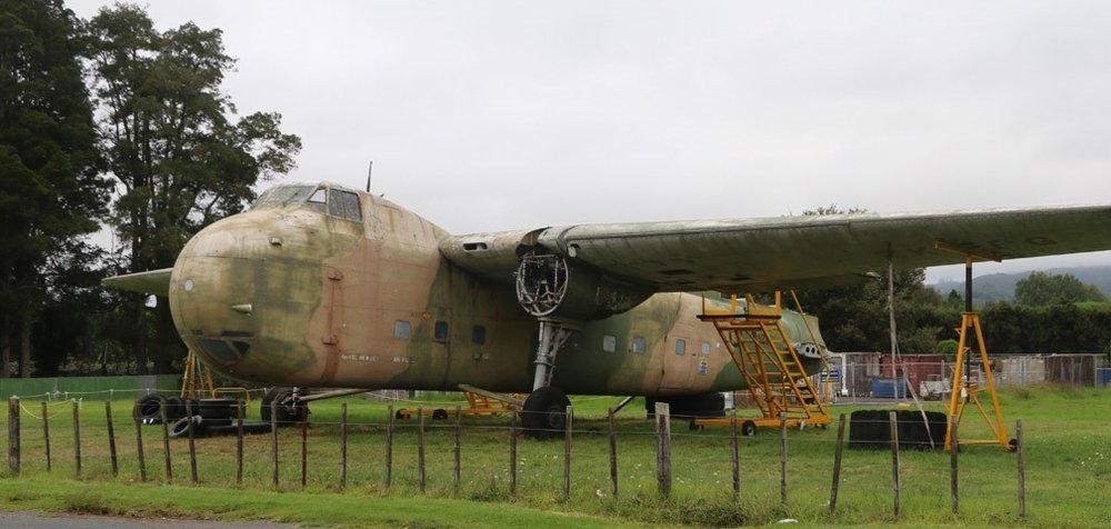 One of the last remaining Bristol Type 170 Freighters at Ardmore Field, New Zealand, before Aerospace Bristol brought the aircraft home to Filton. You can catch up on her journey below.