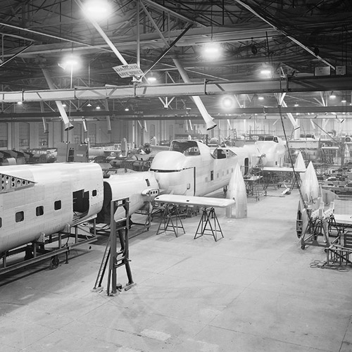 Production Hall, 15 Oct 1946