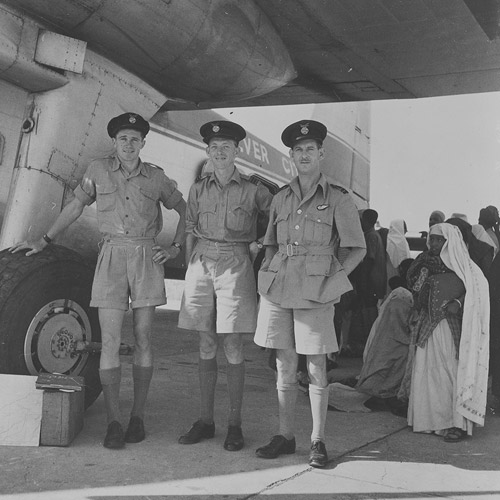 Type 170 Silver City Airline evacuating Indian refugees, 5 Dec 1947