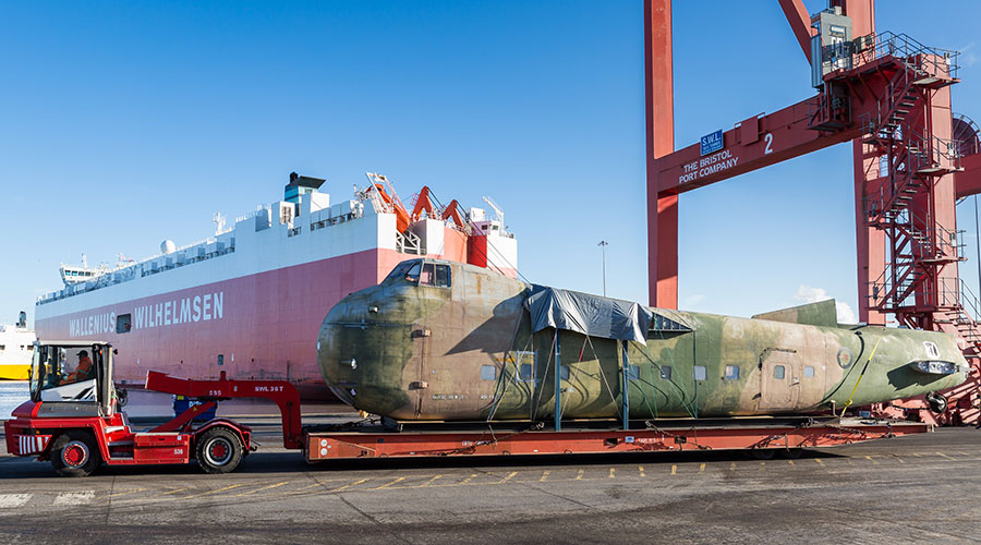 Bristol Freighter's journey home