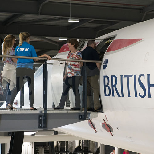 Step aboard the last Concorde ever to fly
