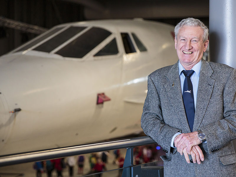 Concorde Captain Gwyn Williams