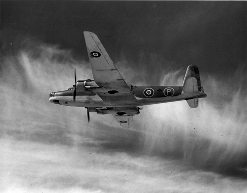 5 April 1940 - The second prototype Vickers Warwick, a multi-purpose twin-engined aircraft powered by a Bristol Centaurus engine, made its first flight. By January 1943, a total of 57 Warwick Mk I aircraft had been completed for the RAF. Production Warwick GR Mk IIs used Bristol Centaurus VI engines and other variants used Centaurus II, VII, and XII engines. The Warwick was flown by 167; 301; 304; 353; 525; 179; 621 Squadrons.Credit: BAE Systems via Brooklands Museum