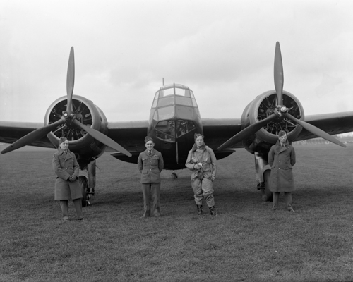 9 May 1940 - As Germany invaded The Netherlands in WW2, 6 Bristol Blenheims Mk I or Mk IV of No. 600 Sqn attacked Waalhaven airport, only one Blenheim returning toits base at RAF Manston.Credit: BAE Systems