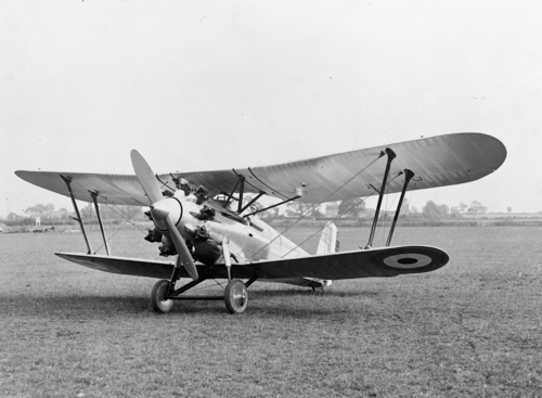 17 May 1927 - Bristol Bulldog prototype made its first flight. It performed so well in its early handling trials that it made its first public appearance in the RAF display at Hendon in July 1927.Credit: BAE Systems