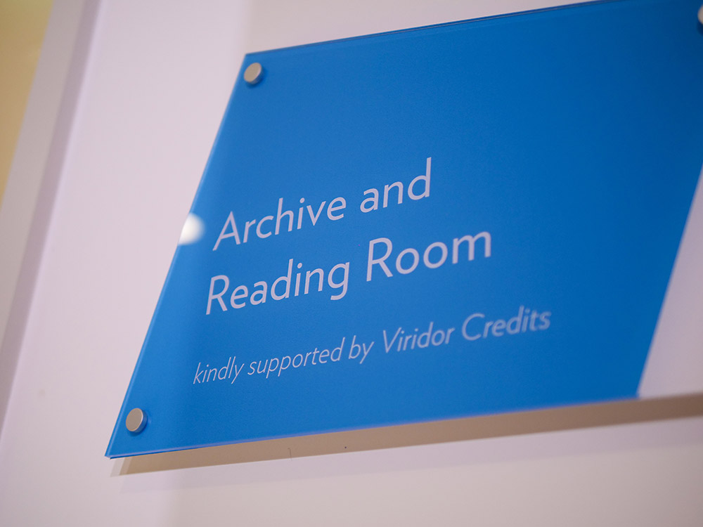 Archive and Reading Room