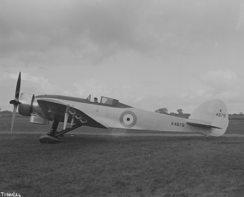 30 June 1937 - Bristol Type 138A high altitude research monoplane set a new world altitude record of 53,937 ft during a 2¼-hour flight flown by Flight Lieutenant M.J. Adam.Credit: BAE Systems