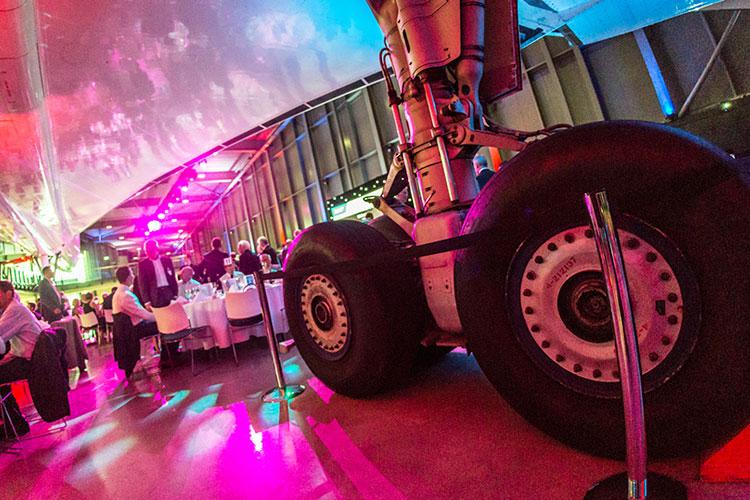 Christmas parties at Aerospace Bristol