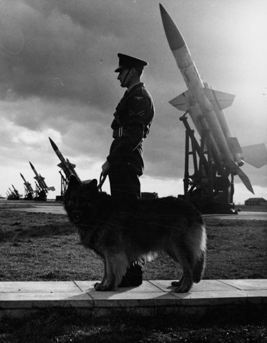 19 July 1951 - First successful short-range Bloodhound surface-to-air missile test flight. The Bloodhound later entered service with Fighter Command at North Coates in Lincolnshire in July 1958.Credit: BAE Systems