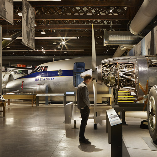 Journey through a century of aviation history