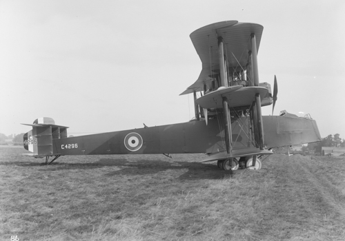 13 August 1918 - The first prototype Bristol Braemar Mk I with four 230 HP Siddeley Puma engines made its first successful flight to Martlesham Heath for RAF trials. It did not proceed beyond prototype evaluation.Credit: BAE Systems